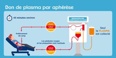 Explication d'un don de plasma par aphérèse