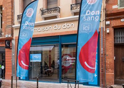 Photo de la Maison du don de sang de Toulouse