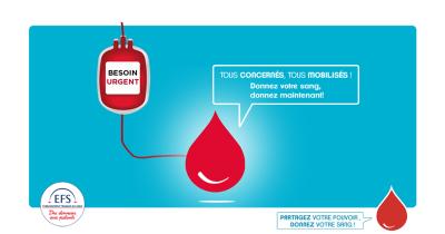 Don du sang : les besoins sont urgents