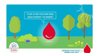 Don du sang durant les ponts du mois de mai