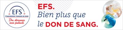 logo : l'EFS bien plus que le don du sang