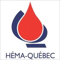 logo H�©ma-Qu�©bec, responsable de la transfusion sanguine et du don de sang au Qu�©bec