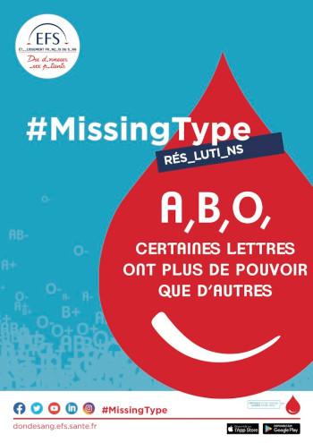 Op�©ration de don du sang : MissingType