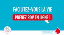 Facilitez-vous la vie, prenez RDV en ligne !